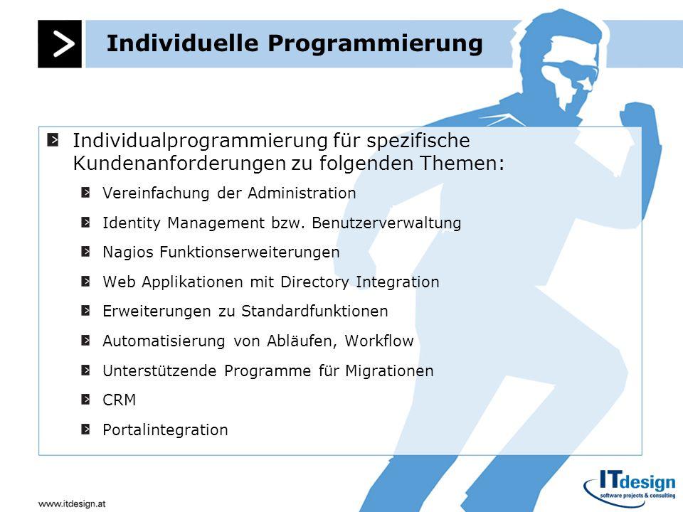 Individuelle Programmierung