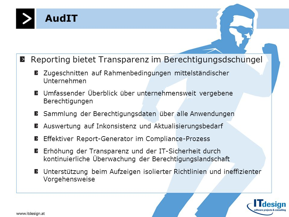AudIT Reporting bietet Transparenz im Berechtigungsdschungel