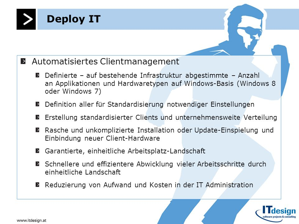 Deploy IT Automatisiertes Clientmanagement