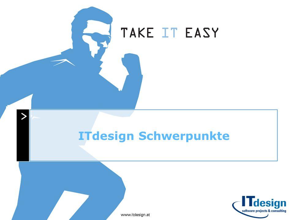 ITdesign Schwerpunkte