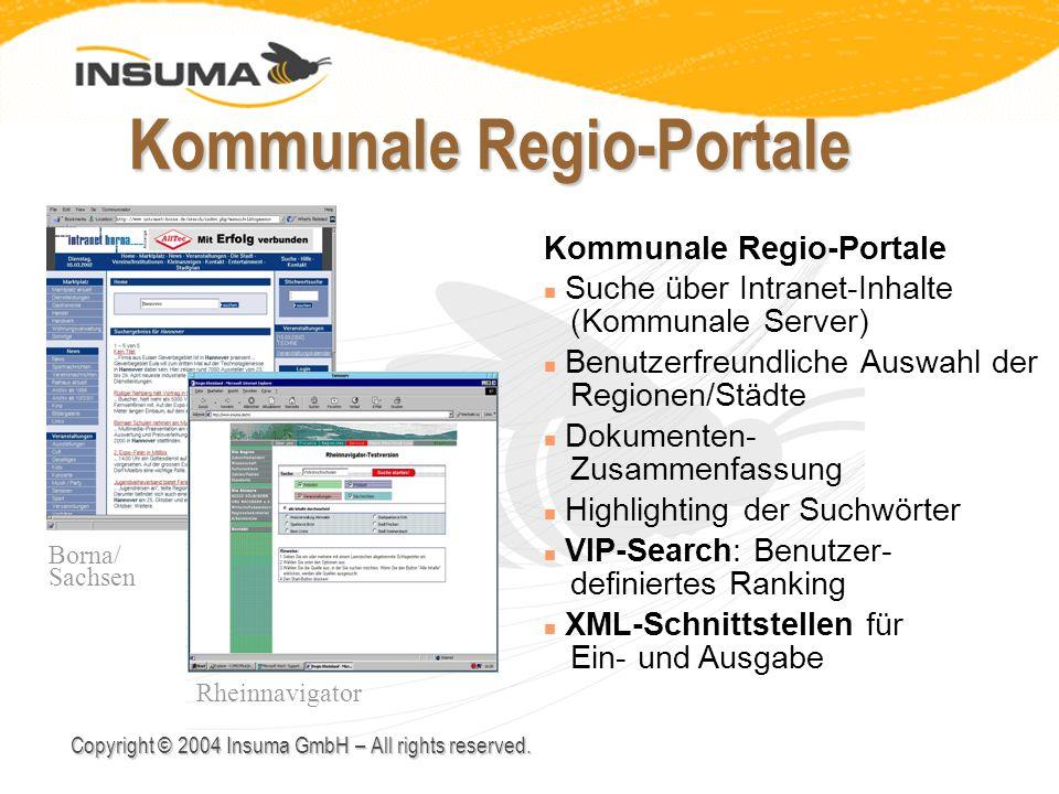 Kommunale Regio-Portale