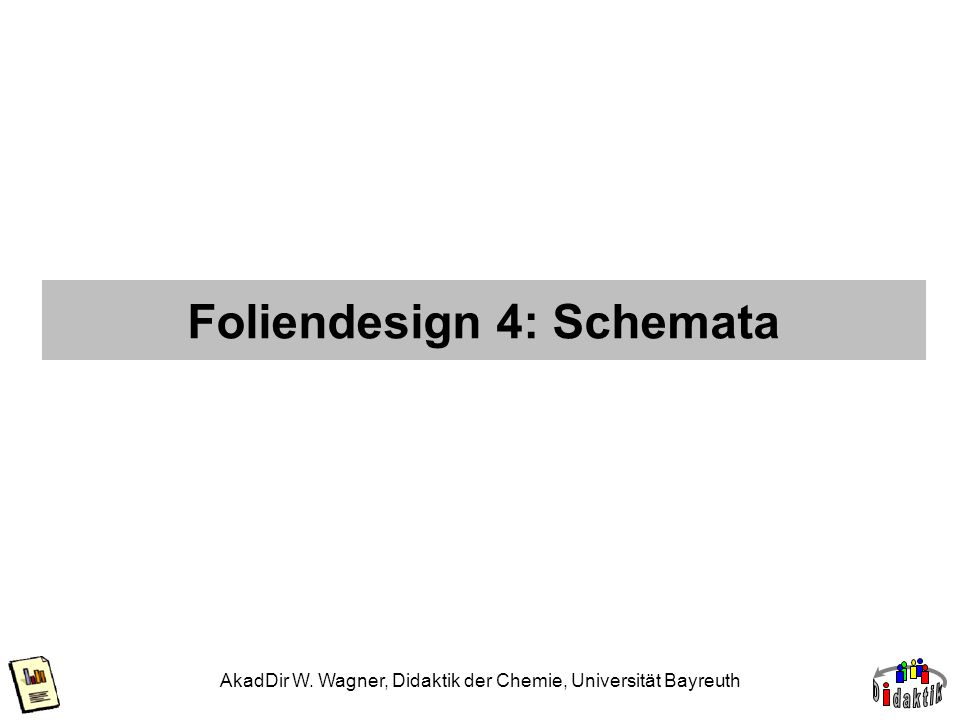 Foliendesign 4: Schemata