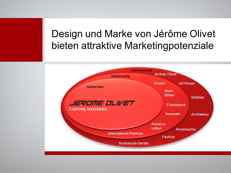 Design und Marke von Jérôme Olivet bieten attraktive Marketingpotenziale