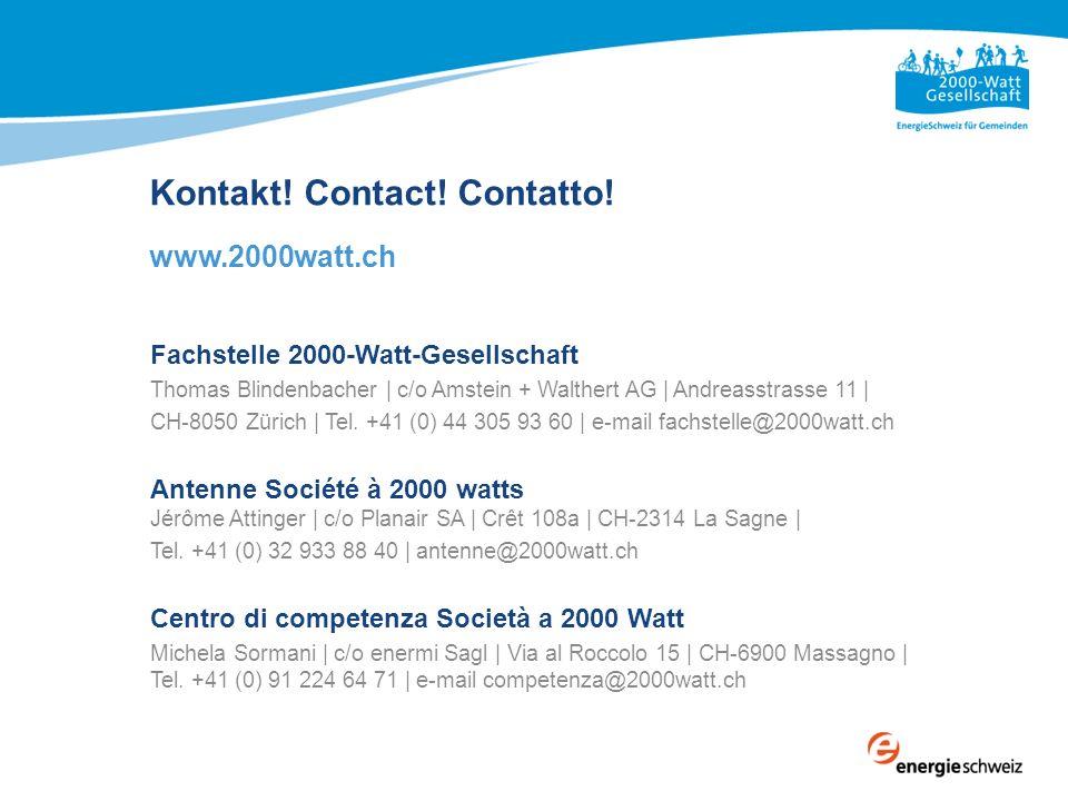 Kontakt! Contact! Contatto!