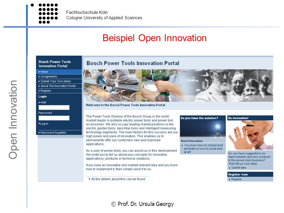 Beispiel Open Innovation