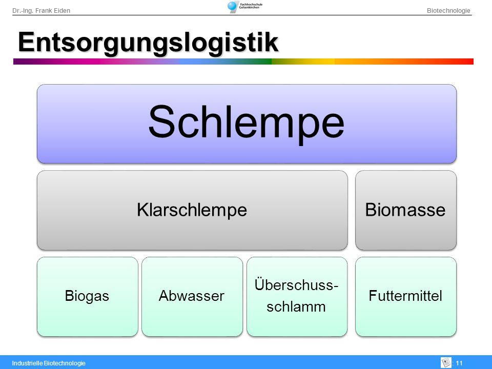 Schlempe Entsorgungslogistik Klarschlempe Biomasse Biogas Abwasser