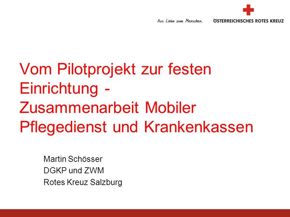 Martin Schösser DGKP und ZWM Rotes Kreuz Salzburg
