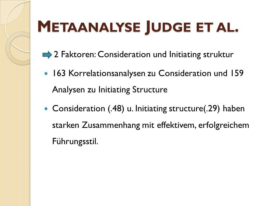 Metaanalyse Judge et al.
