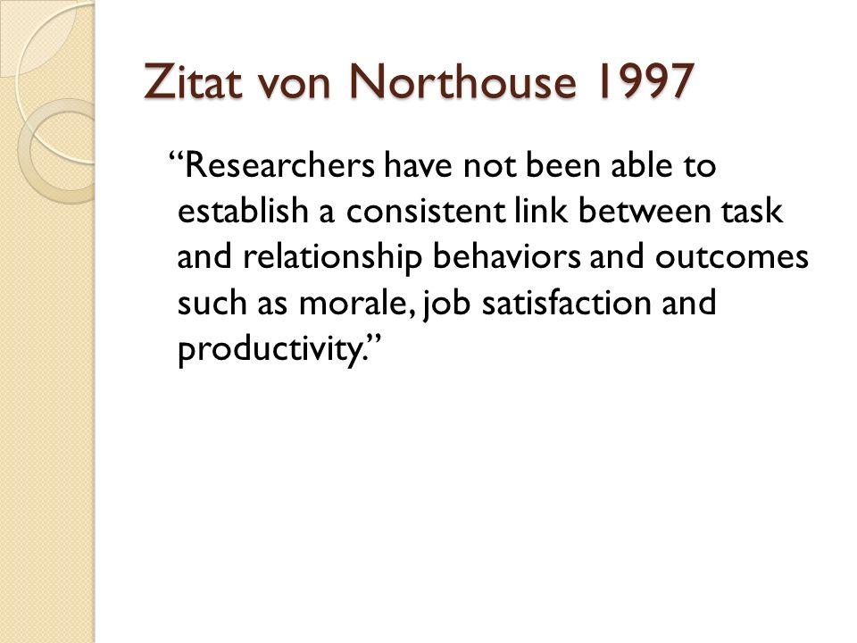 Zitat von Northouse 1997