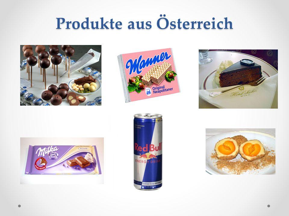 Produkte aus Österreich