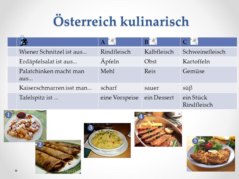 Österreich kulinarisch