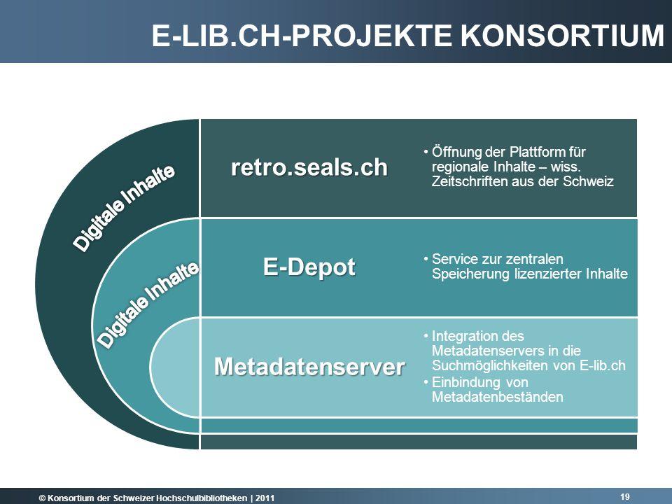 E-lib.ch-Projekte Konsortium