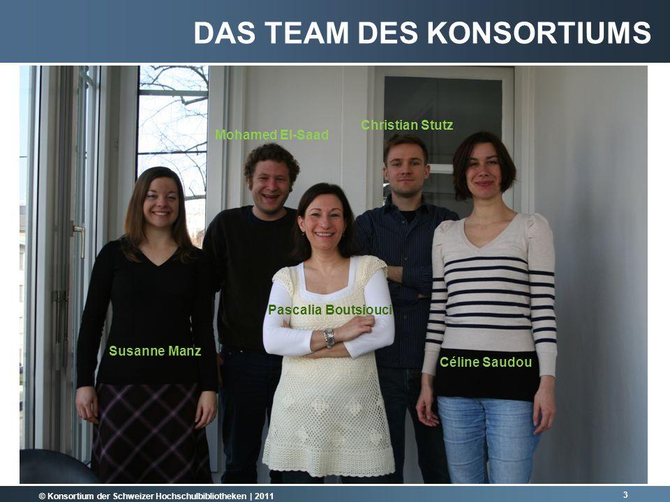 Das Team des Konsortiums