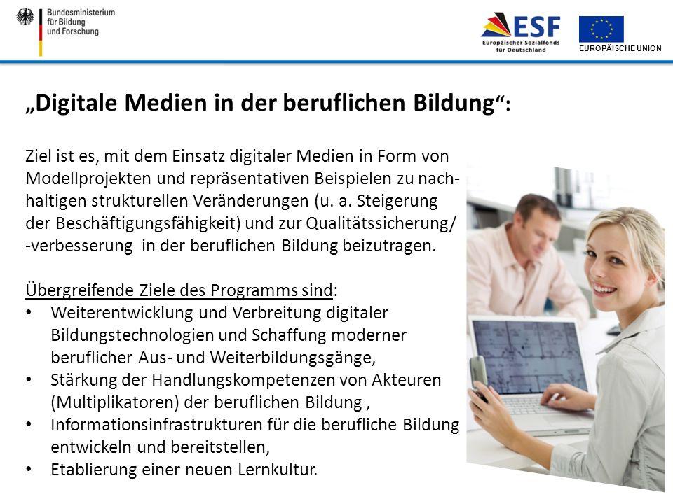 """""""Digitale Medien in der beruflichen Bildung :"""
