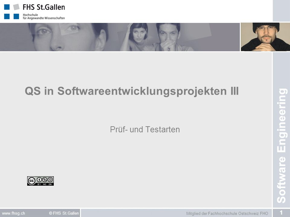 QS in Softwareentwicklungsprojekten III