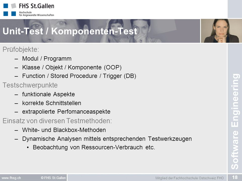 Unit-Test / Komponenten-Test