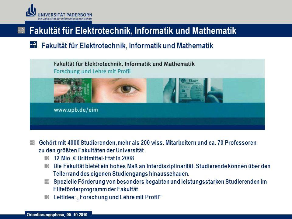 Fakultät für Elektrotechnik, Informatik und Mathematik