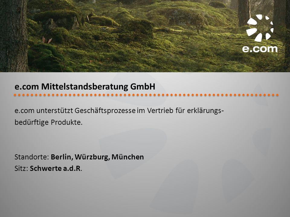 e.com Mittelstandsberatung GmbH
