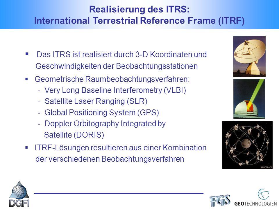 Realisierung des ITRS: