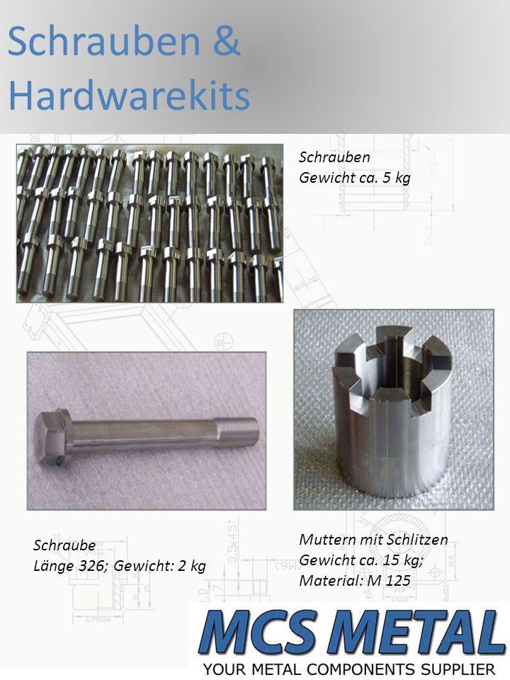 Schrauben & Hardwarekits Schrauben Gewicht ca. 5 kg