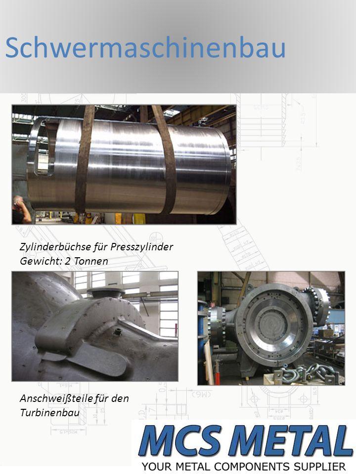 Schwermaschinenbau Zylinderbüchse für Presszylinder Gewicht: 2 Tonnen