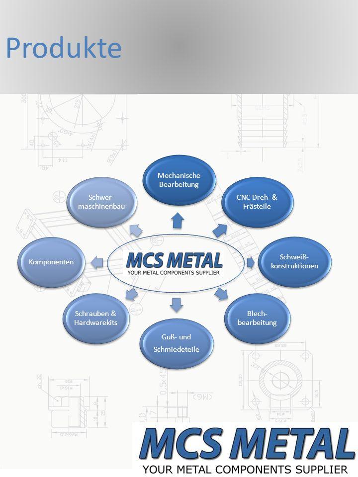 Produkte Mechanische Bearbeitung CNC Dreh- & Frästeile