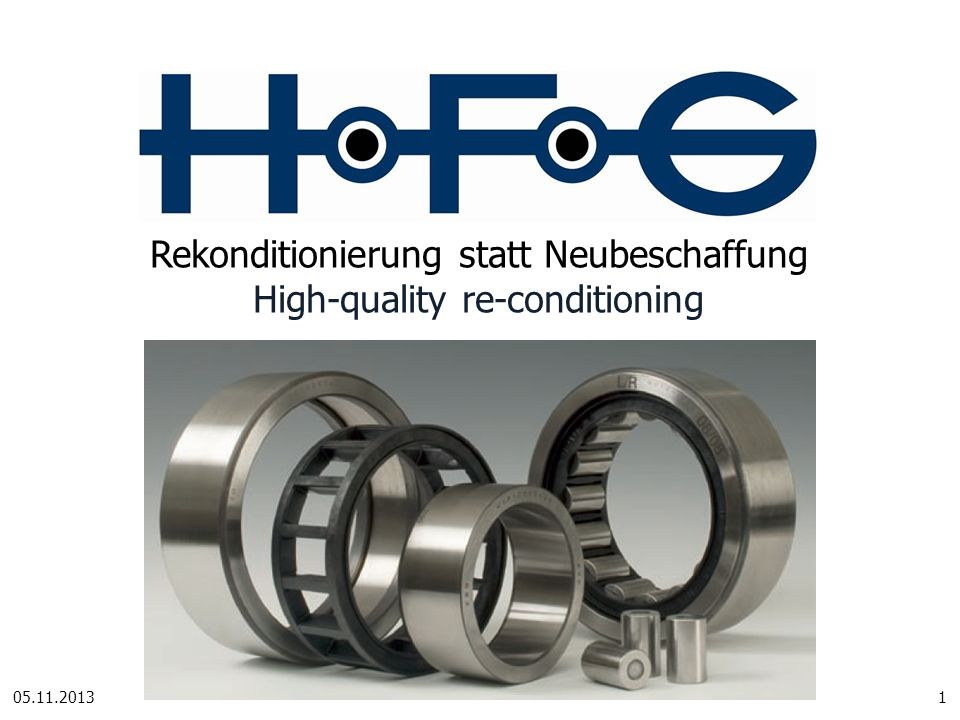 Rekonditionierung statt Neubeschaffung High-quality re-conditioning