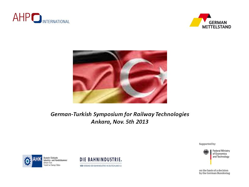 German-Turkish Symposium for Railway Technologies