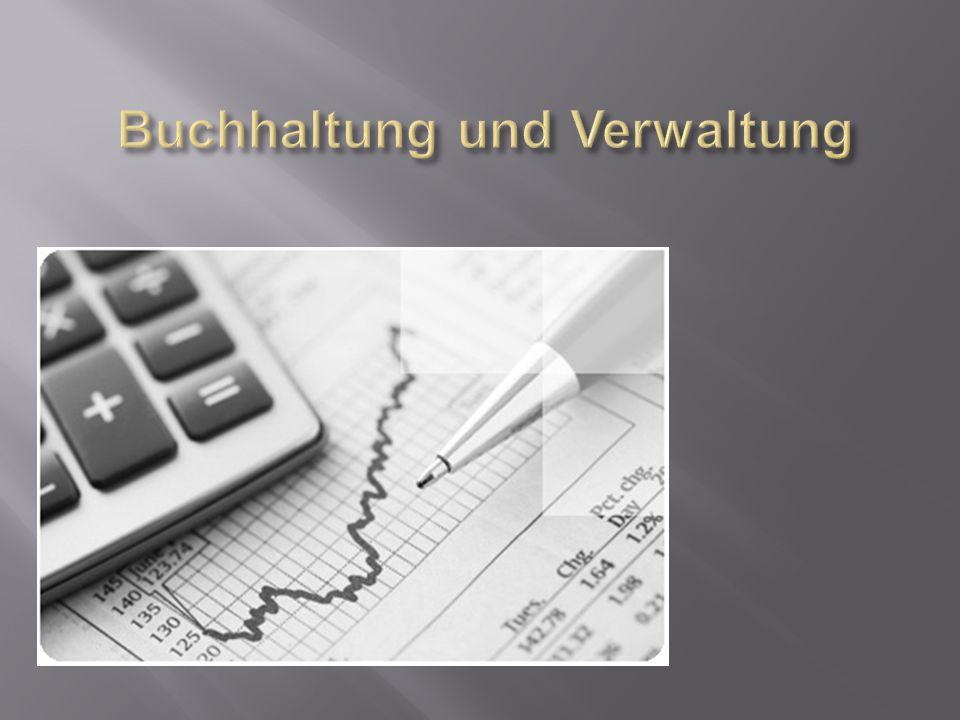 Buchhaltung und Verwaltung