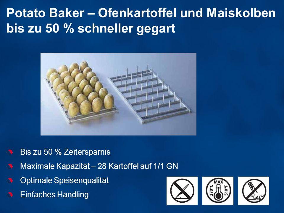 Potato Baker – Ofenkartoffel und Maiskolben bis zu 50 % schneller gegart