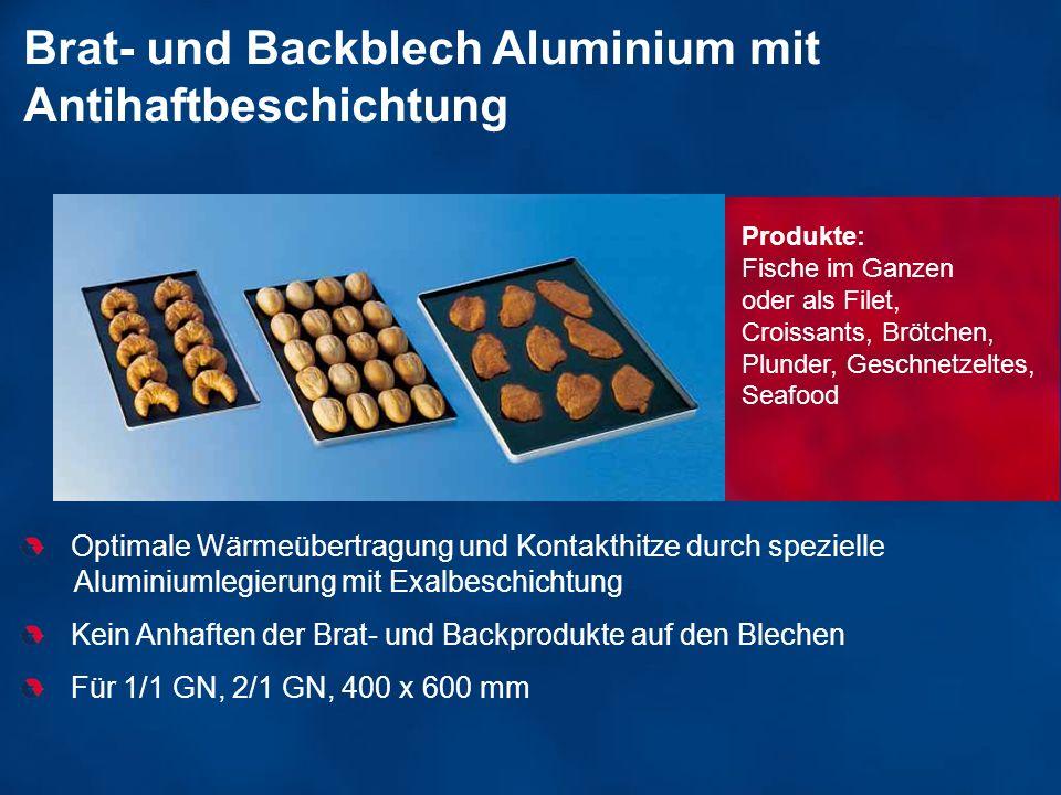 Brat- und Backblech Aluminium mit Antihaftbeschichtung