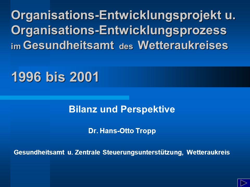 Organisations-Entwicklungsprojekt u