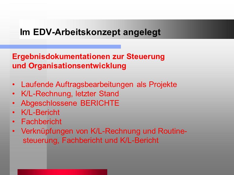 Im EDV-Arbeitskonzept angelegt