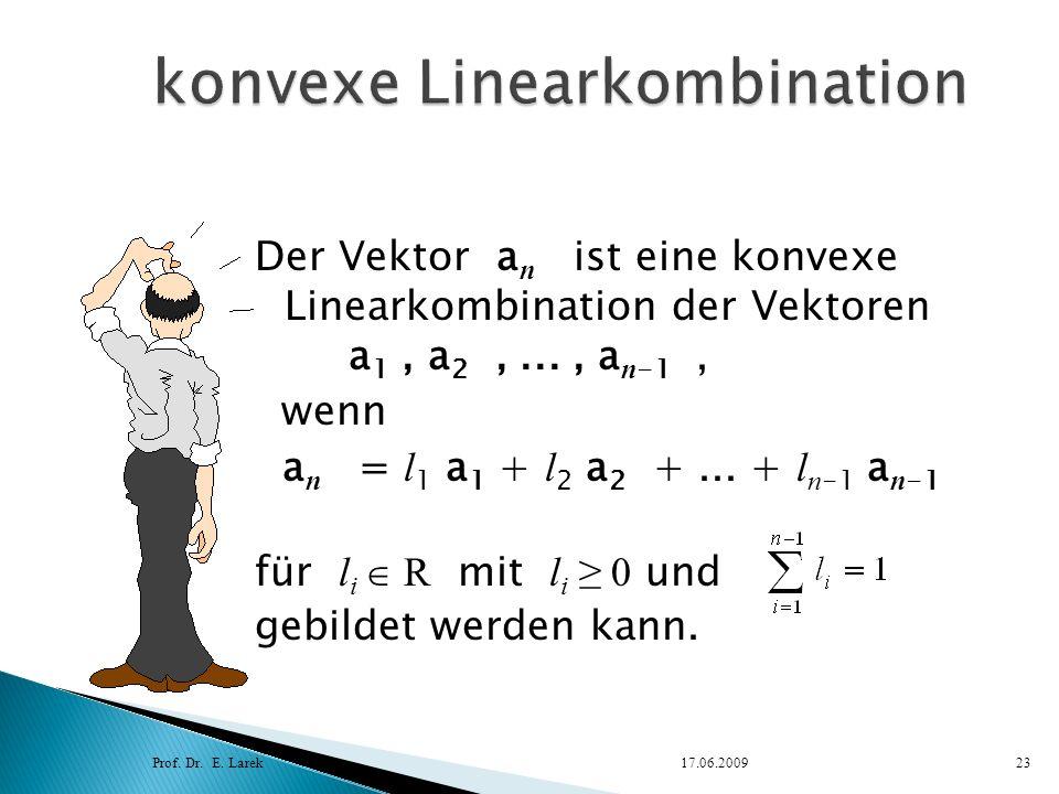 konvexe Linearkombination