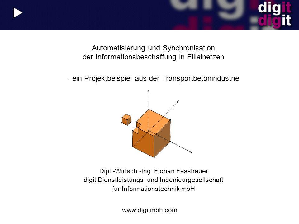 - ein Projektbeispiel aus der Transportbetonindustrie