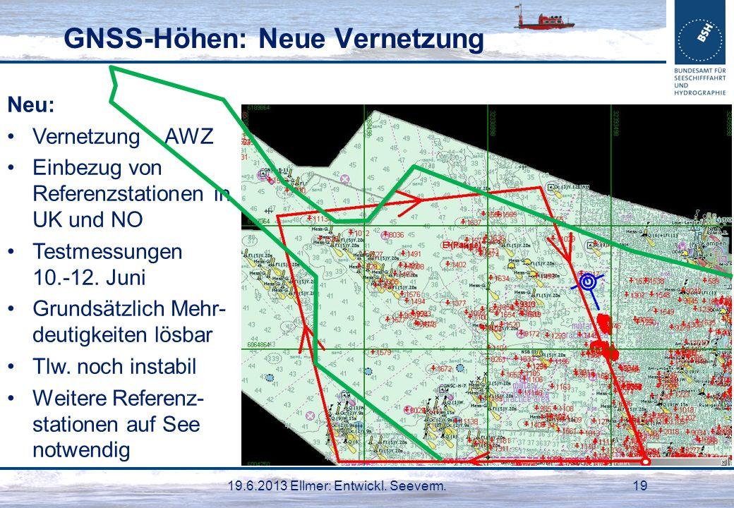 GNSS-Höhen: Neue Vernetzung