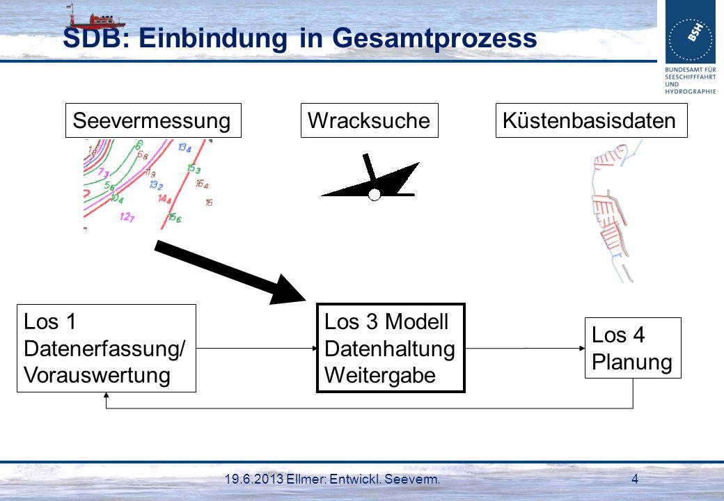 SDB: Einbindung in Gesamtprozess
