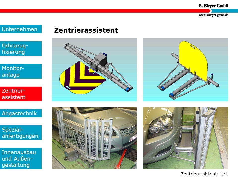 Zentrierassistent Unternehmen Fahrzeug-fixierung Monitor- anlage