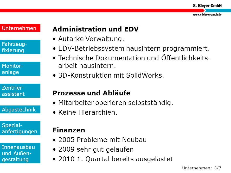 Administration und EDV • Autarke Verwaltung.