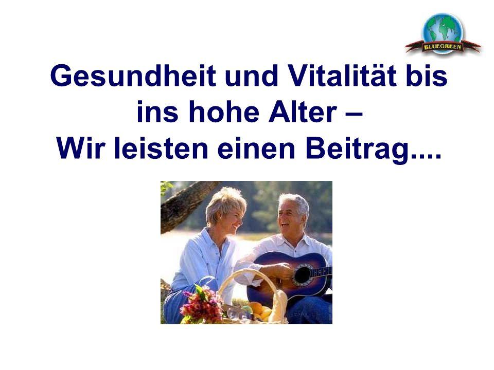 Gesundheit und Vitalität bis ins hohe Alter – Wir leisten einen Beitrag....