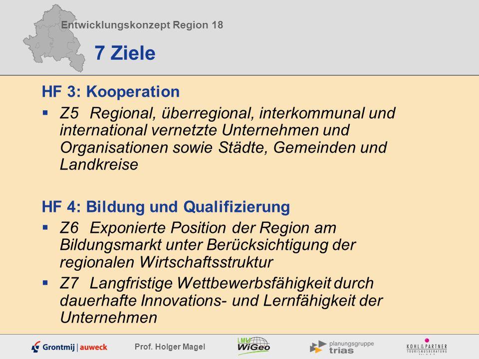7 Ziele HF 3: Kooperation.