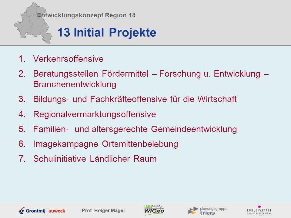 13 Initial Projekte Verkehrsoffensive