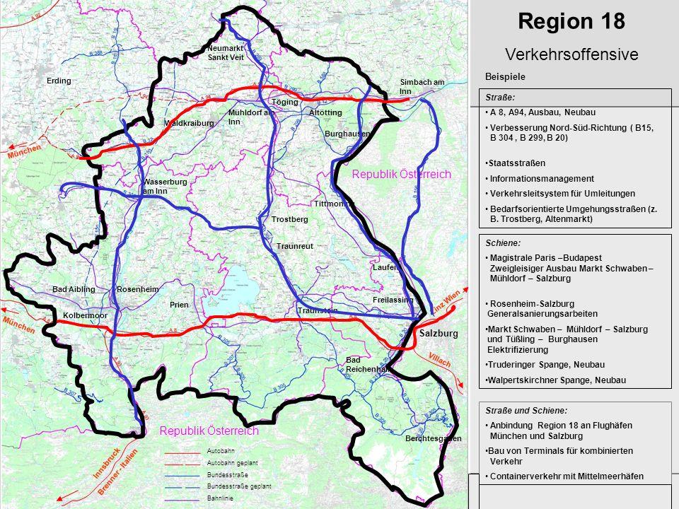 Region 18 Verkehrsoffensive Republik Österreich Republik Österreich