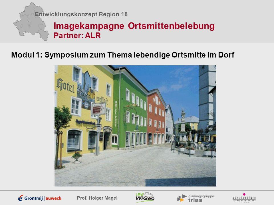 Imagekampagne Ortsmittenbelebung Partner: ALR