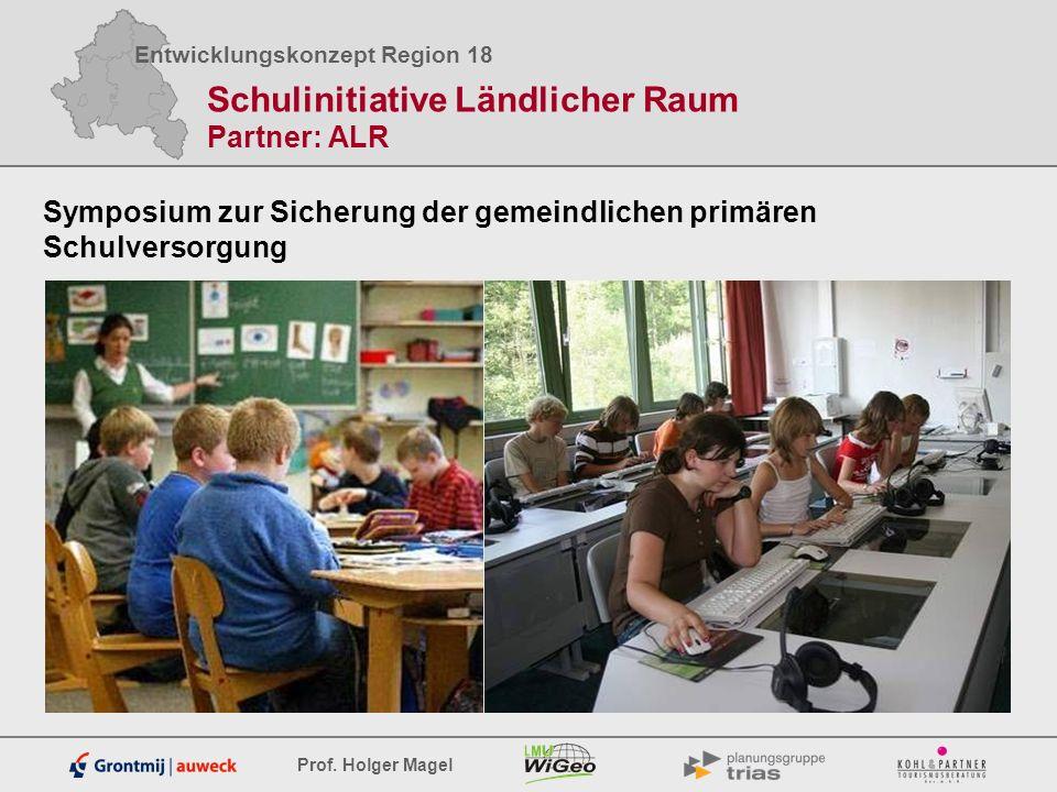 Schulinitiative Ländlicher Raum Partner: ALR