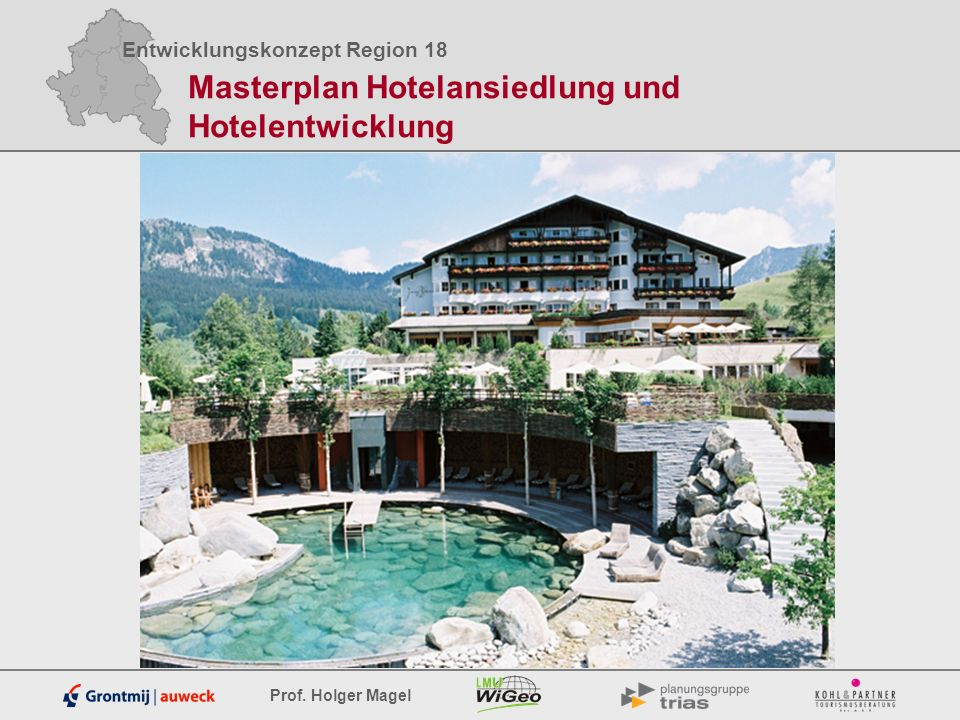Masterplan Hotelansiedlung und Hotelentwicklung