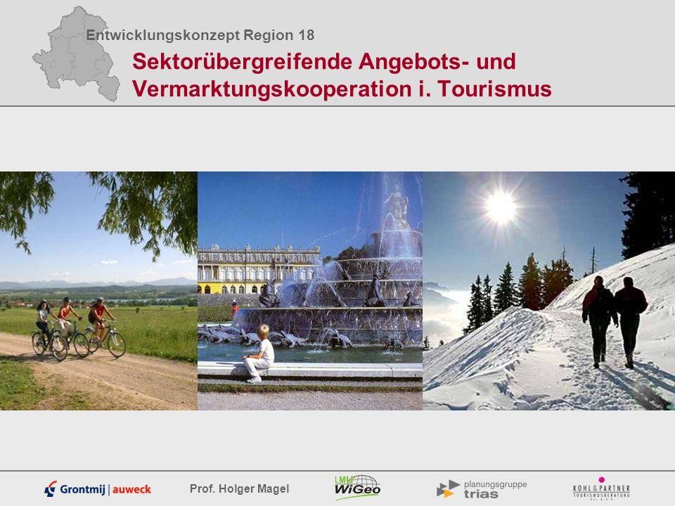 Sektorübergreifende Angebots- und Vermarktungskooperation i. Tourismus