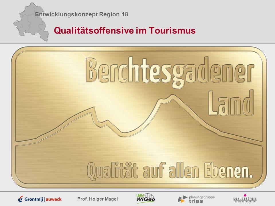 Qualitätsoffensive im Tourismus