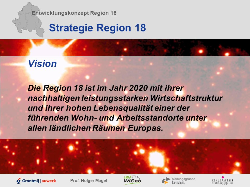 Strategie Region 18 Vision