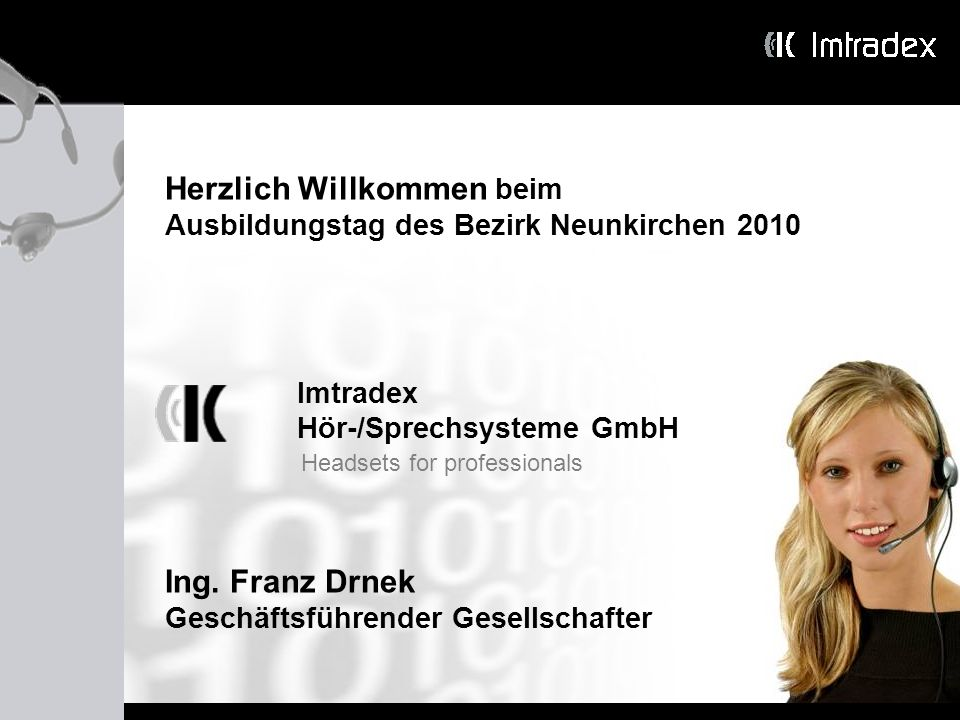 Herzlich Willkommen beim Ausbildungstag des Bezirk Neunkirchen 2010